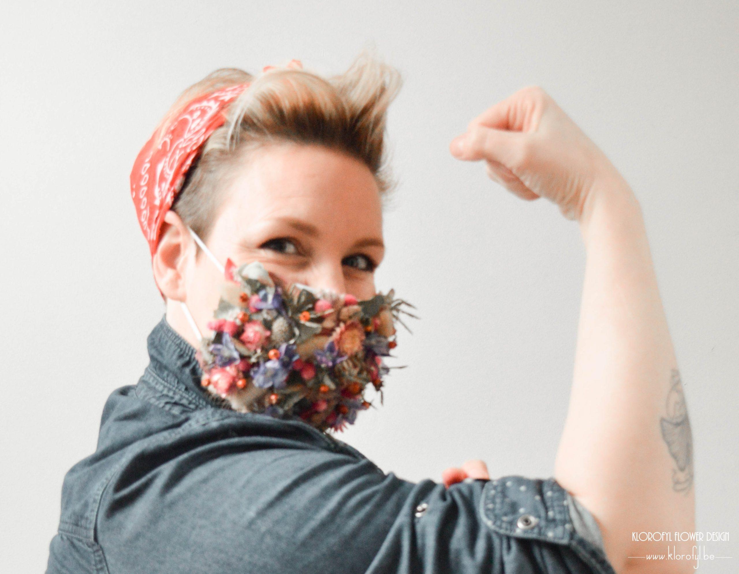 Ness - je suis éco-fleuriste - boeket de fleurs